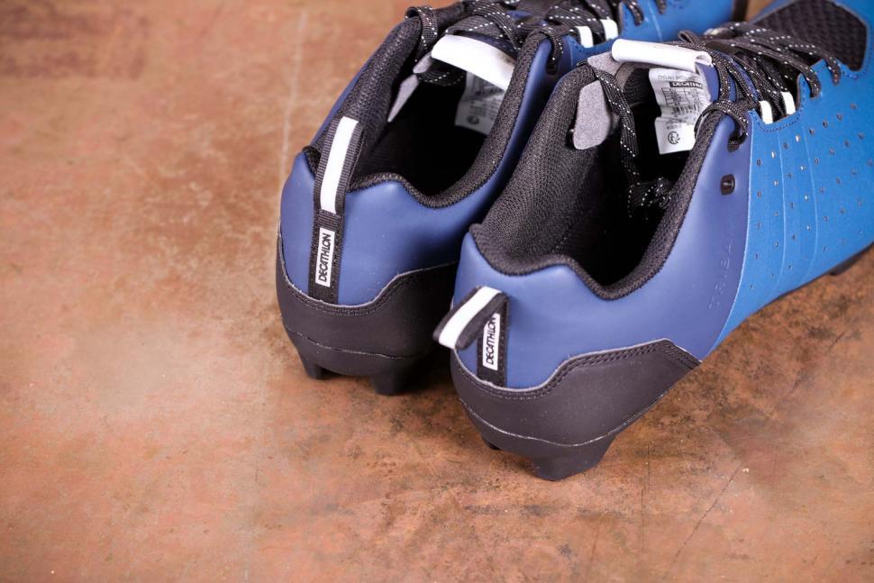 Triban RC 500 SPD road cycling shoes - heels