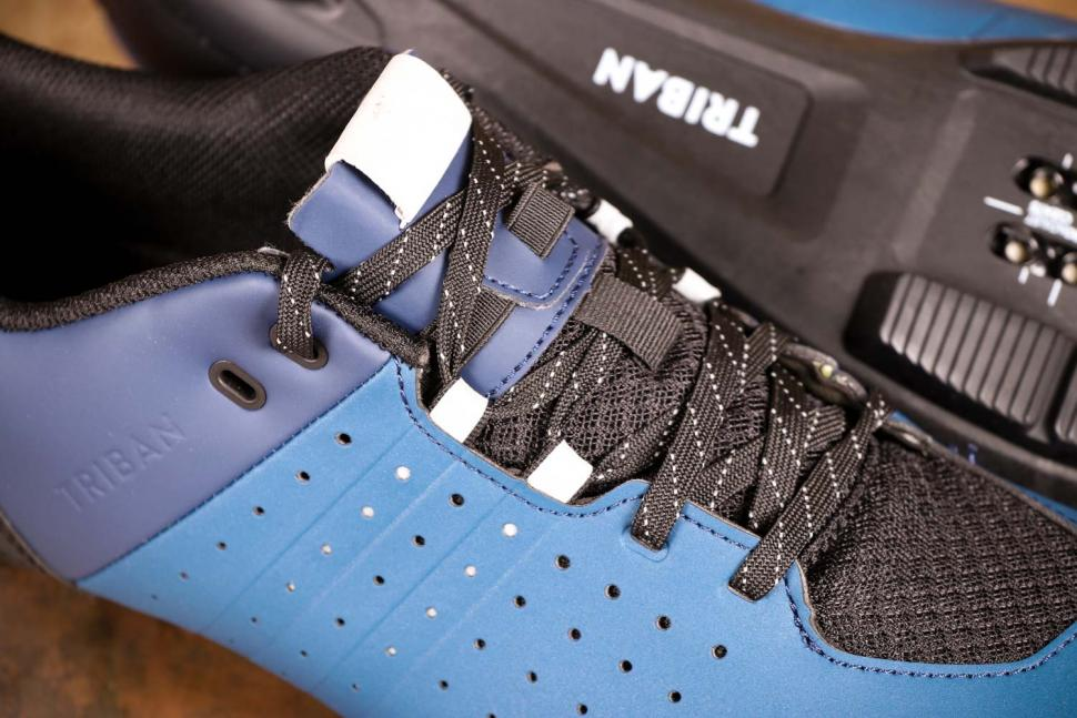 Triban RC 500 SPD road cycling shoes - laces