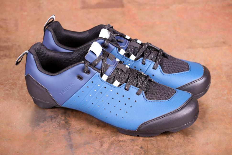 Triban RC 500 SPD road cycling shoes - side