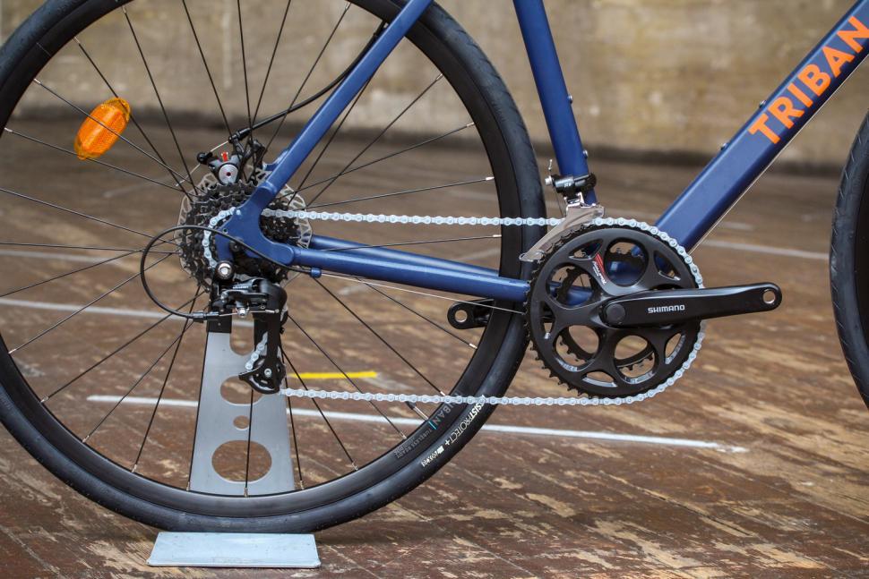 Triban RC120 Disc road bike - drivetrain.jpg