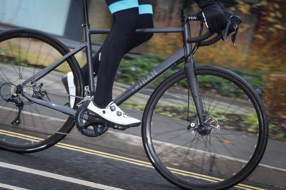 Review Triban Rc 500 Disc Road Bike Roadcc