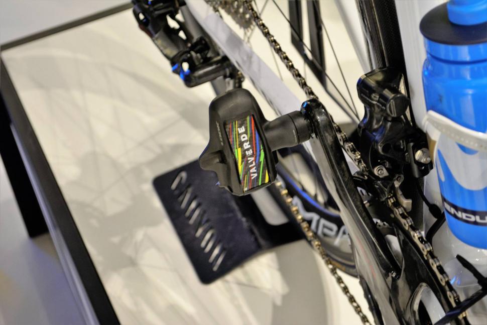 Valverde bike- Credit Movistar Team