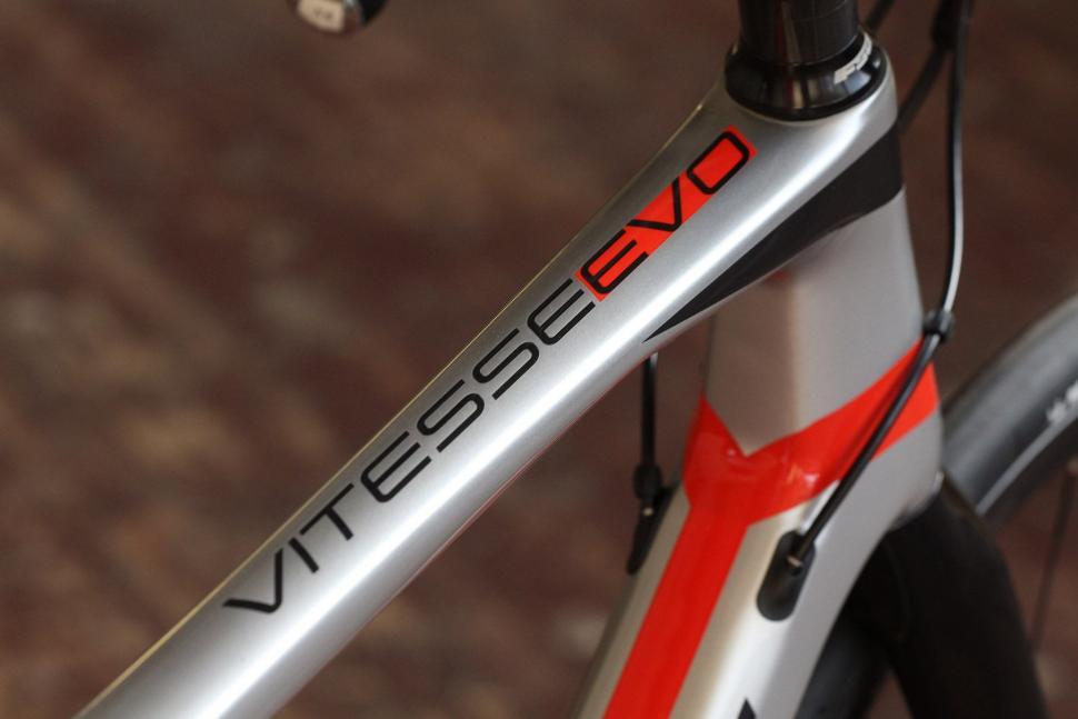 Vitus Vitesse Evo Disc - top tube decal.jpg