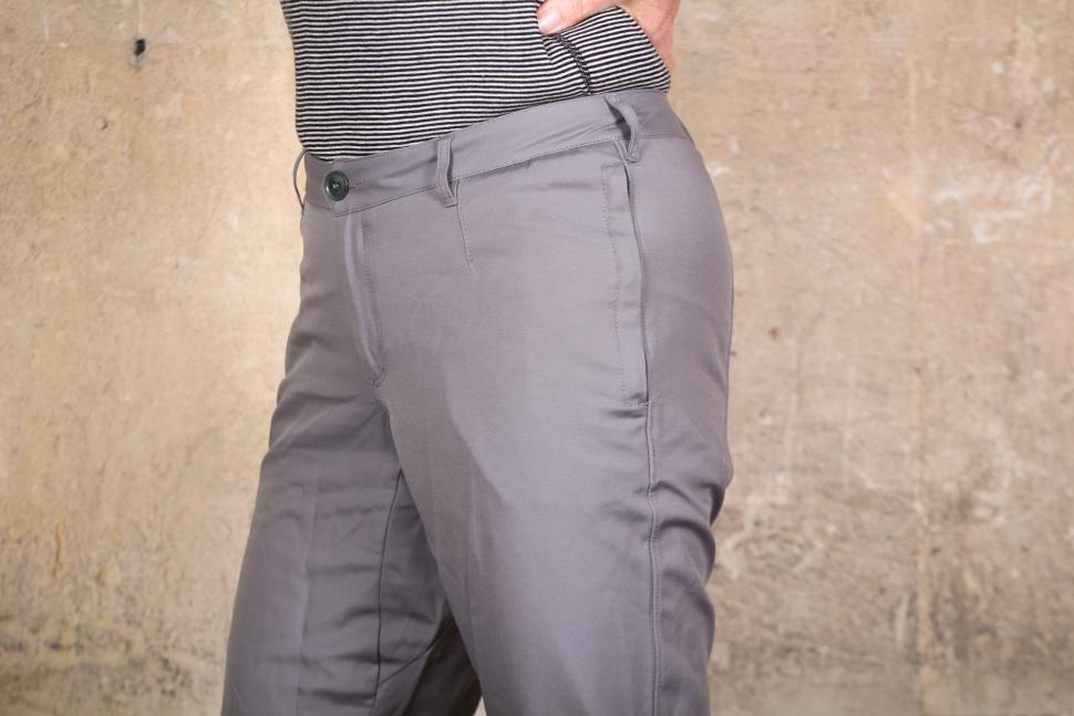 Vulpine Womens Summer Cycling Capri Pants - waist.jpg