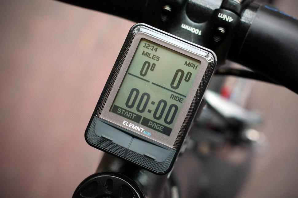 Review: Wahoo Elemnt Mini | road cc