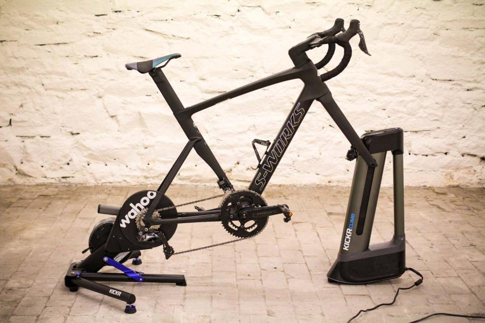 Wahoo KICKR CLIMB Indoor Grade Simulator - full set up.jpg