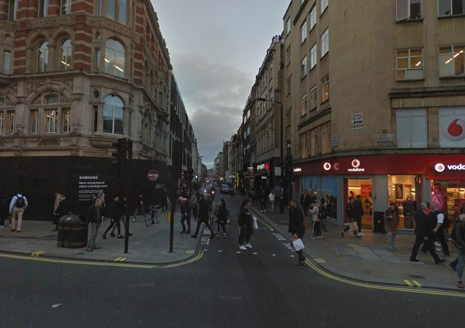 Wardour Street (via StreetView)
