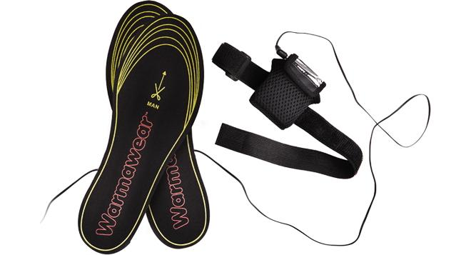 Warmawear heated insoles