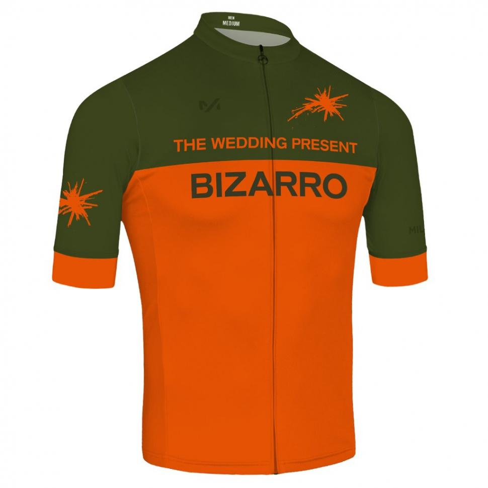Wedding Present Bizarro cycling jersey