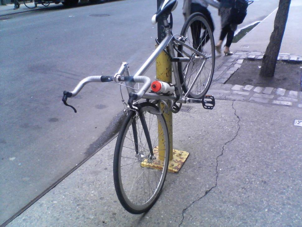 Well locked bike