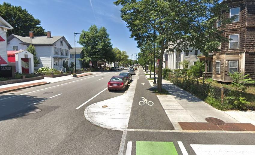 Wester Avenue, Cambridge, Massachusetts (via StreetView)