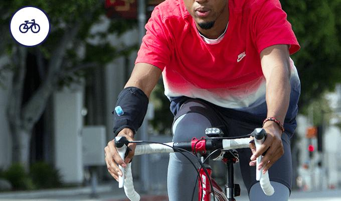 Wetsleeve on a cyclist.png