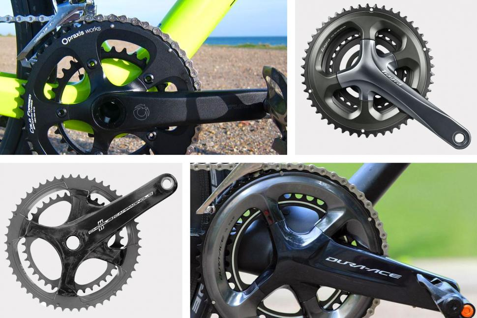 New 2018 Campagnolo Potenza 11 Speed Black 36//52 170mm Crankset  Mid-Compact