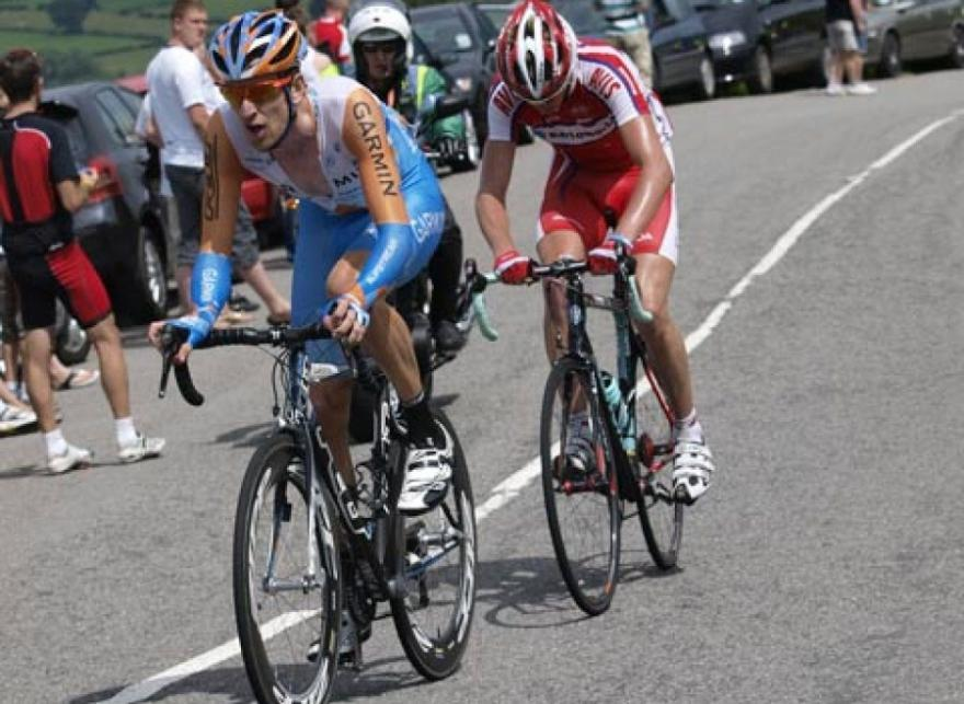 Wiggins and Froome in pre-Team Sky days