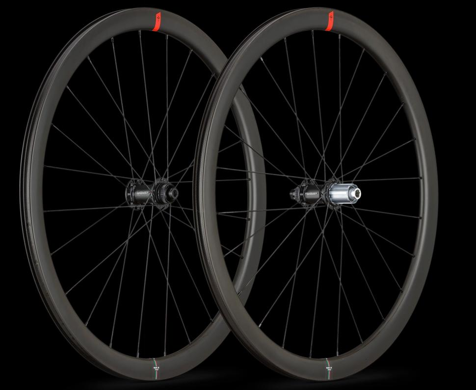 Wilier wheels NDR38KC-Front-pair