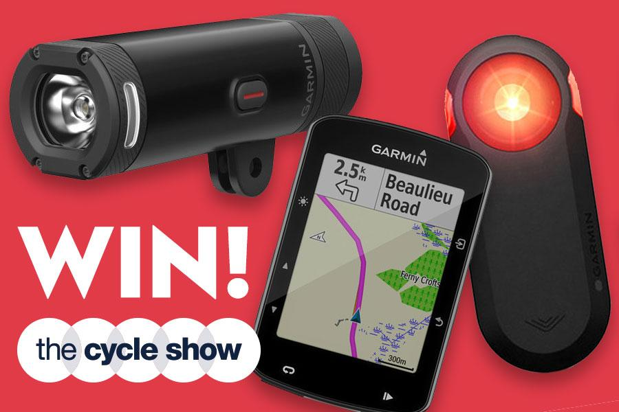 Cycle show Garmin competition