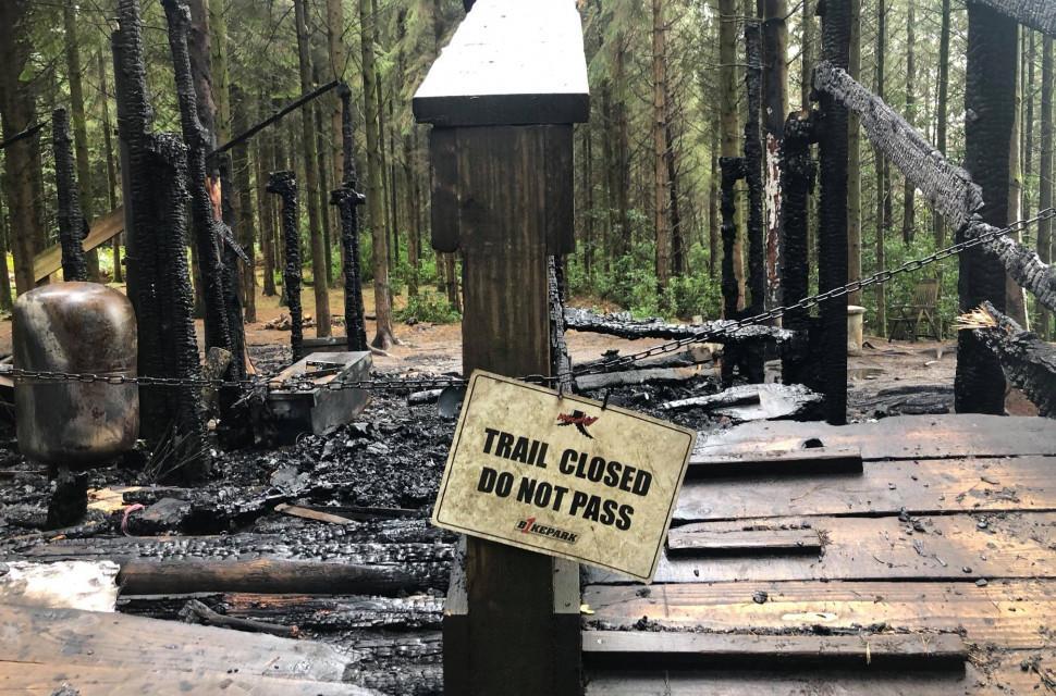 windhill bikepark fire