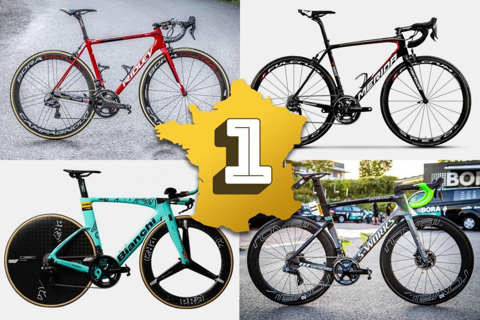 The winning bikes of the 2019 Tour de France