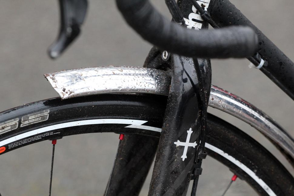 Winterise your bike - mudguard