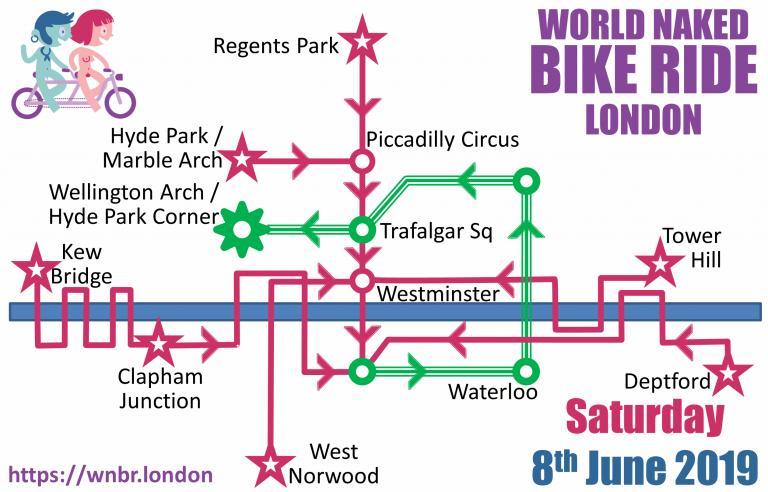 WNBR London 2019