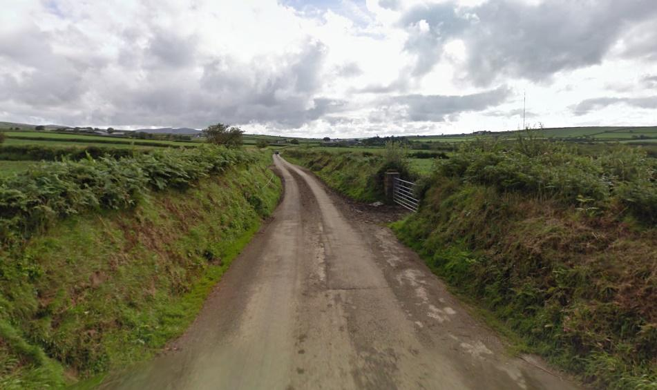 Wolfscastle to Tufton road (via StreetView)