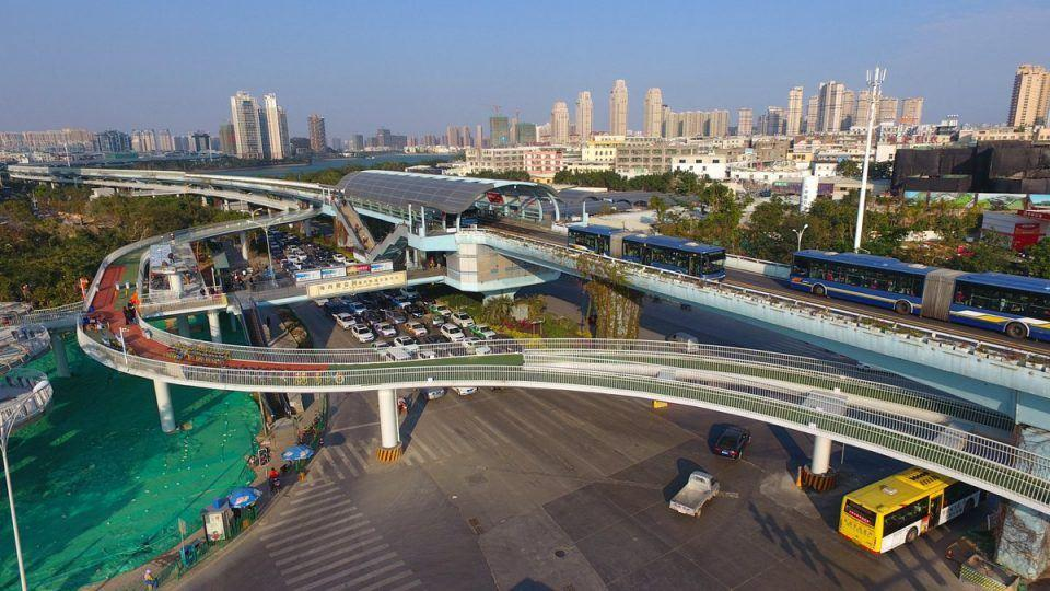 Worlds longest cycle path opens in China.jpg