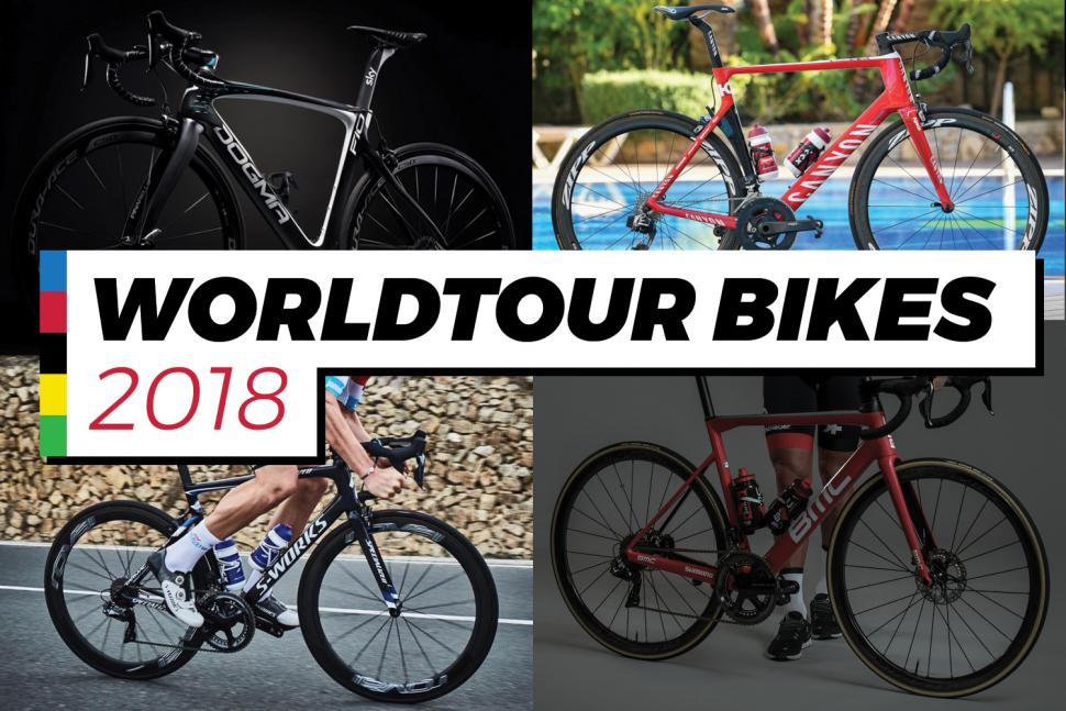 2018 WorldTour race bikes - The complete list of this year s race bikes 1bee2e0de