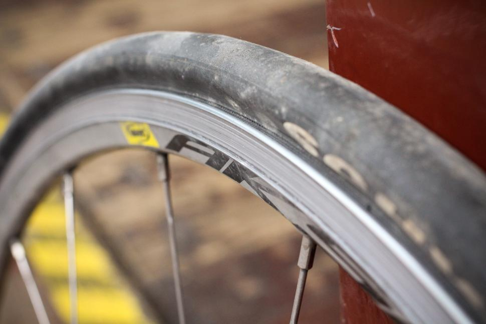 wheel rims have worn out