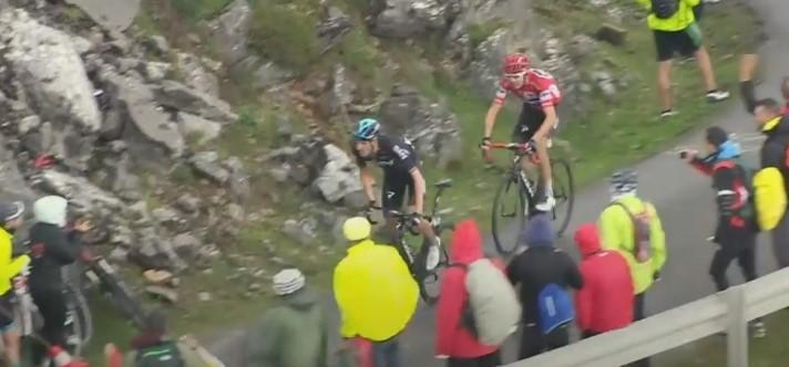 91c97ed6f Froome poised to win 2017 Vuelta a Espana after Contador triumphs on the  Angliru