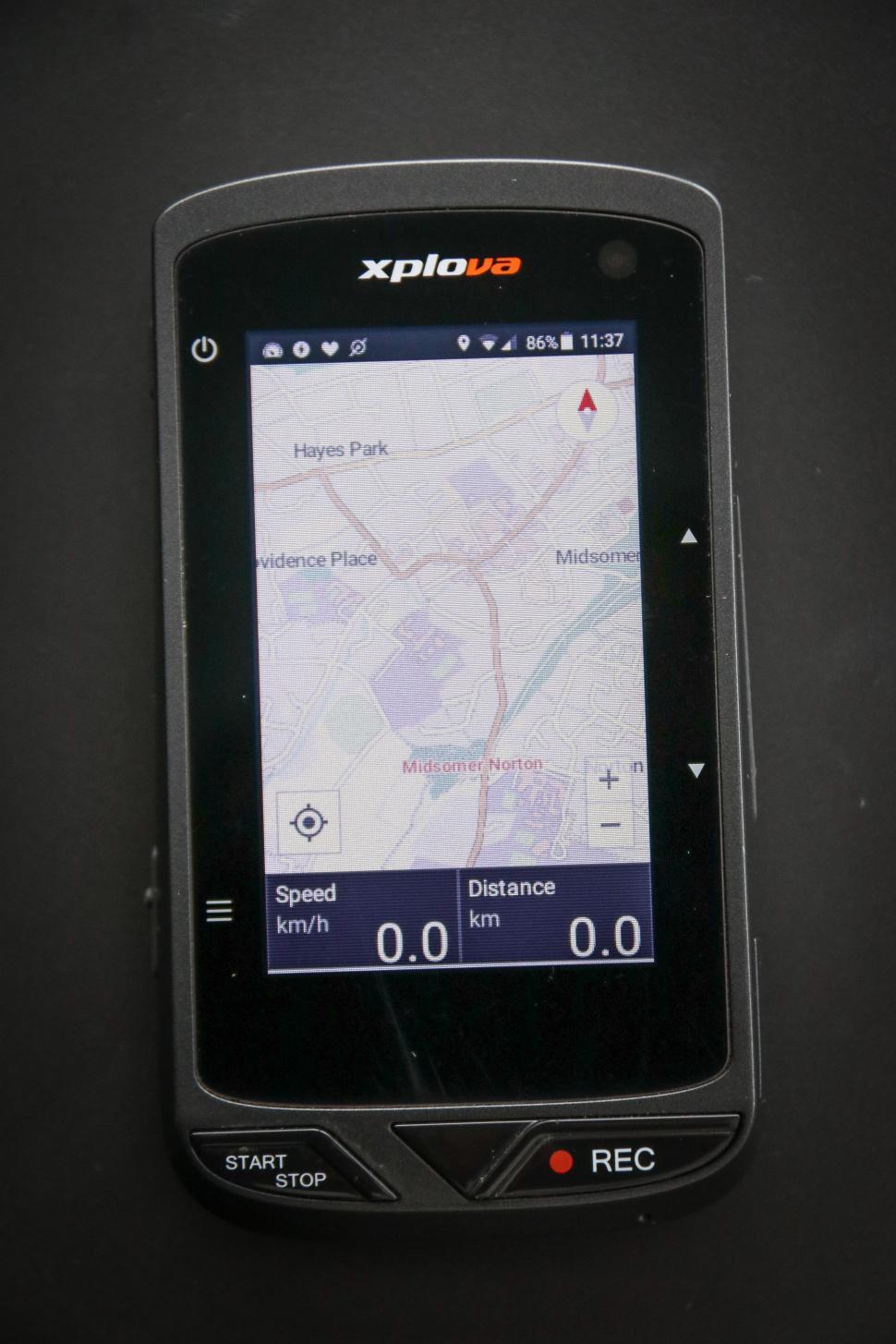 Xplova X5 - map screen.jpg