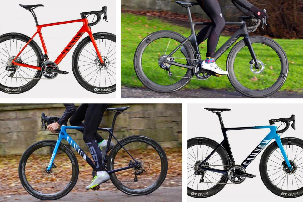 Your complete guide to Canyon's 2019 road bikes April 2019
