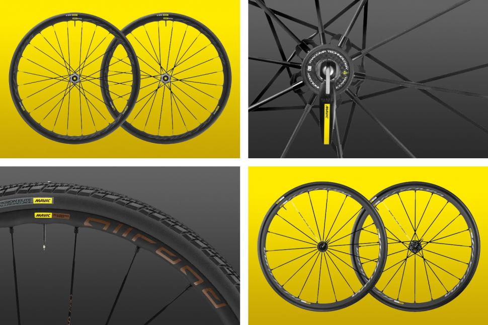 Your complete guide to Mavic's 2019 road wheel range August 2018