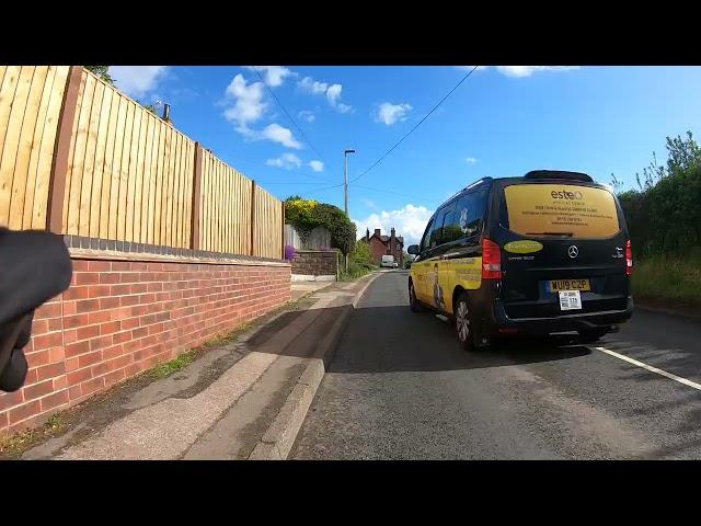 """Near Miss of the Day 583: """"I'm banging their car in panic"""" says cyclist who was close-passed"""