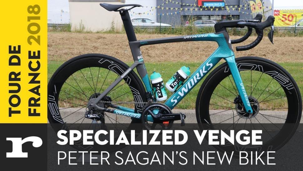 Tour De France Tech 2018 Peter Sagan S Specialized S
