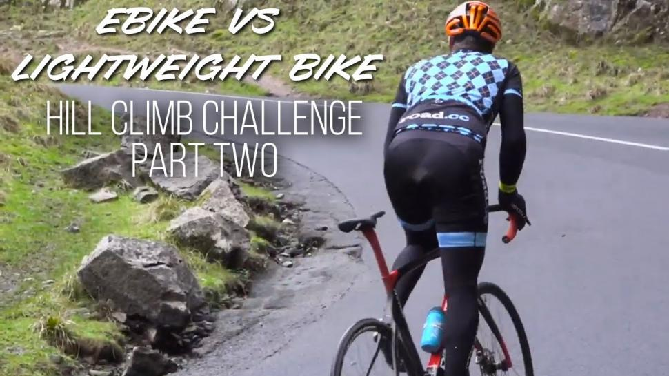e-road bike vs lightweight bike –The Rematch! Longer, harder, further than before