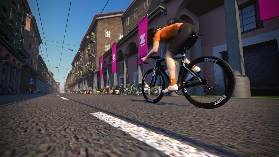 Zwift expands with Giro d'Italia 8 2km prologue course this