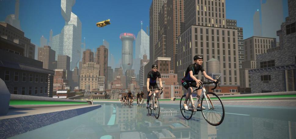 Zwift New York 3