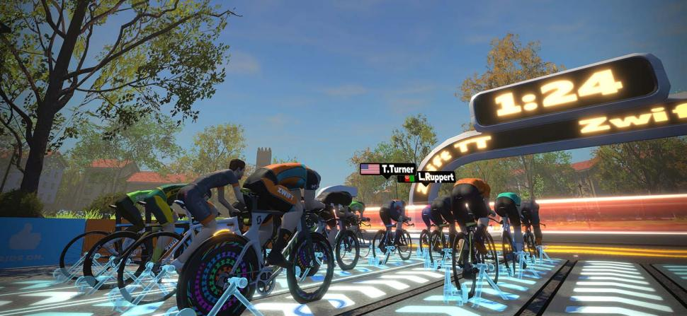Zwift Time Trial
