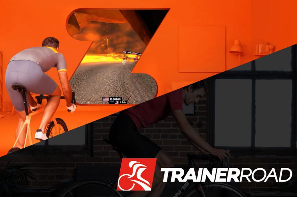 Zwift vs Trainerroad
