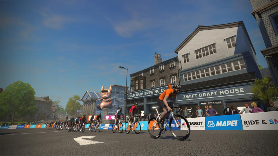 Zwift launches Yorkshire worlds course and steering control