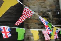 Bunting off Skipton High Street - Katie Anderson