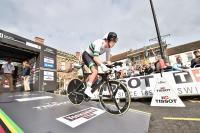 Rohan Dennis at Yorkshire 2019 TT start (picture Allan McKenzie SWPix.com).JPG
