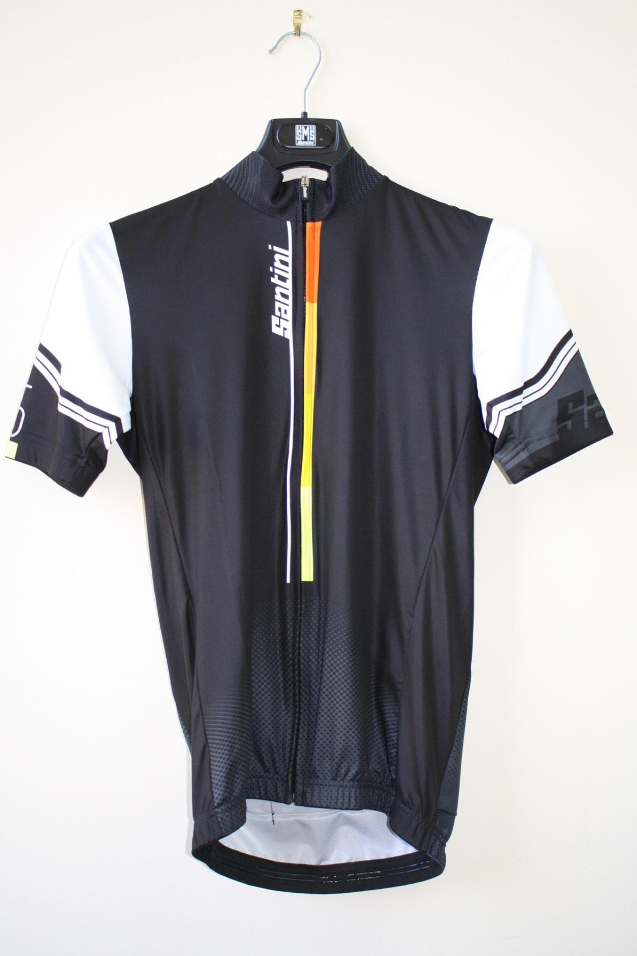 Men/'s Spring Classic Cycling Bib Shorts with Max2 Pad made in Italy by Santini