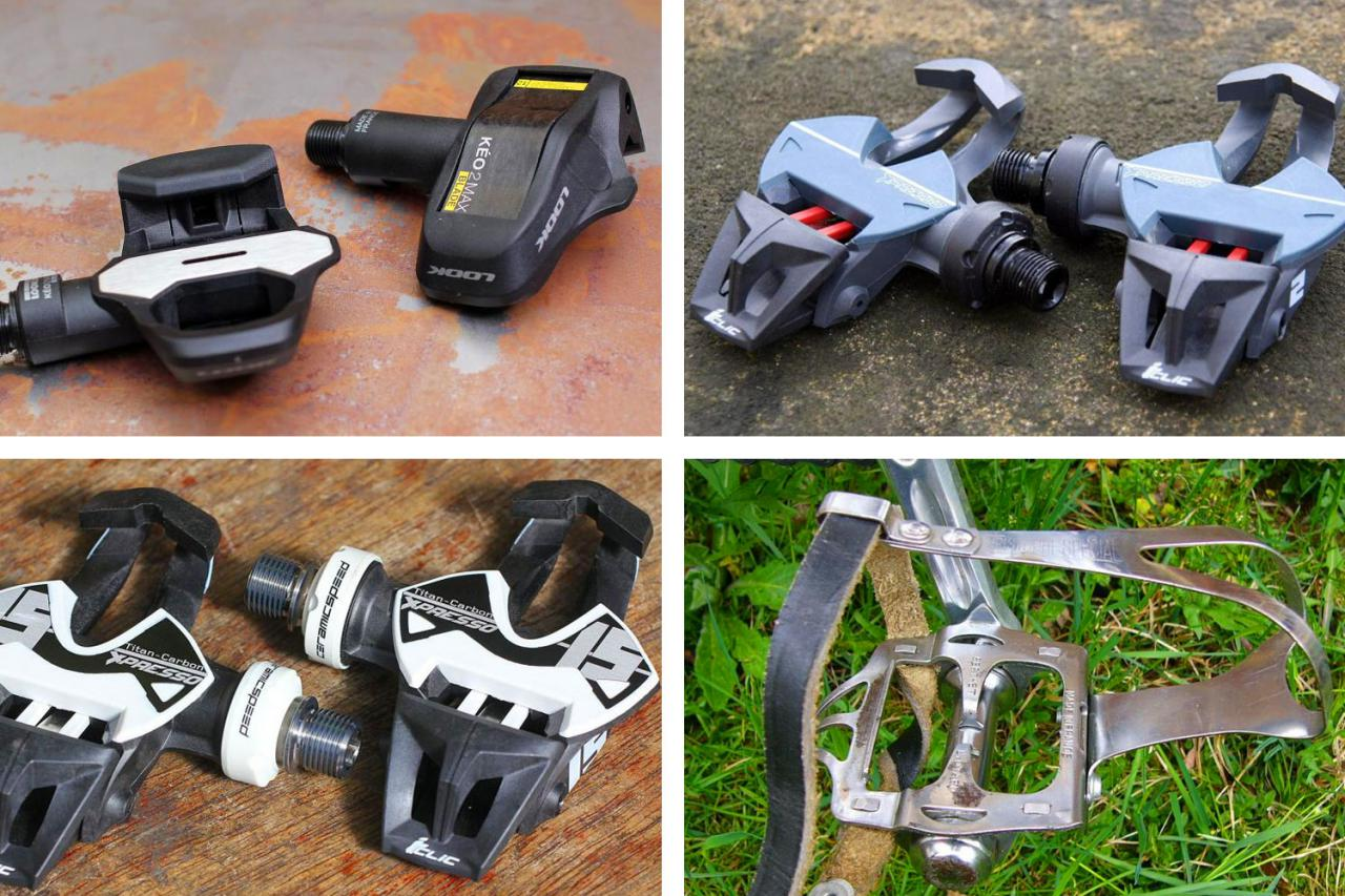 Black RSP Clipless Road Pedal