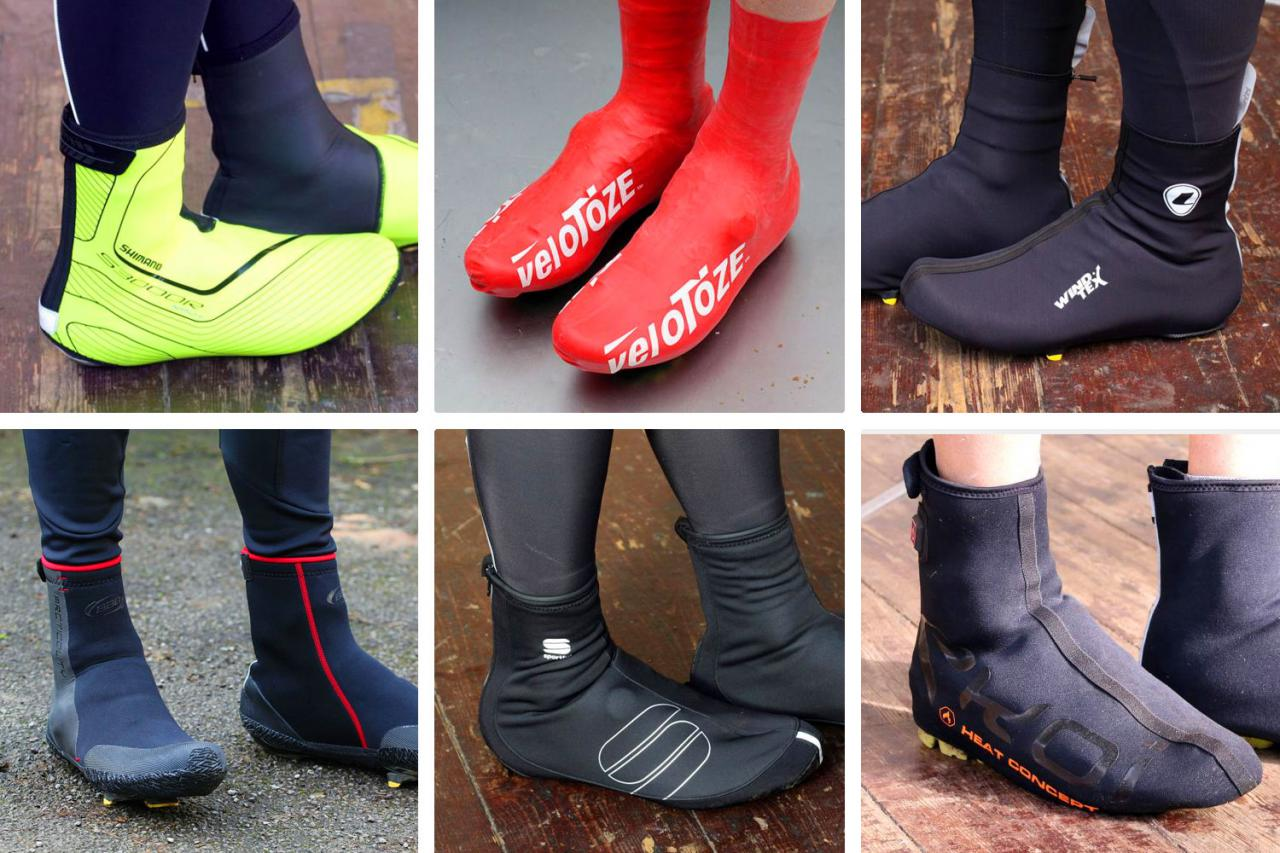 16 of the best 2020 cycling overshoes