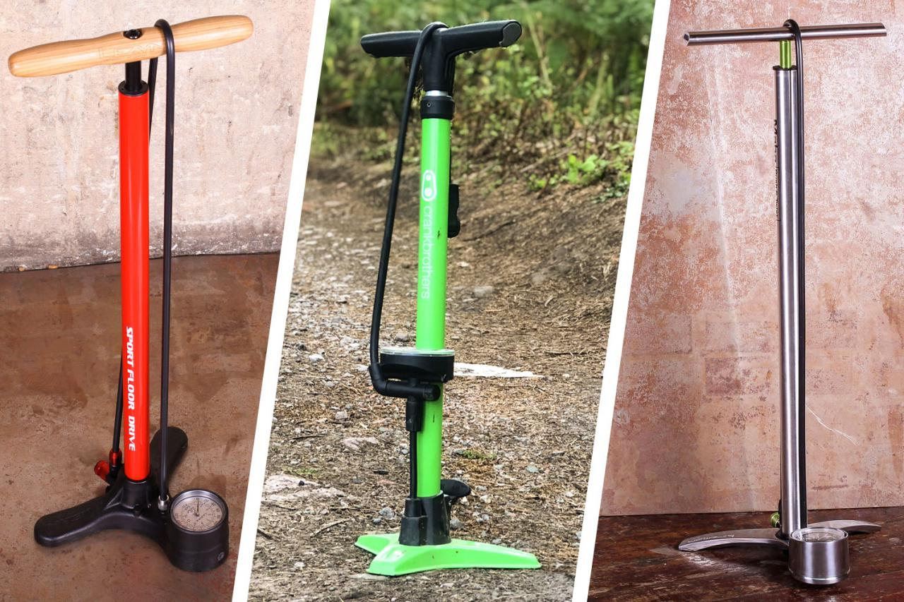 13 of the best track pumps — keep your tyres pumped up the easy way