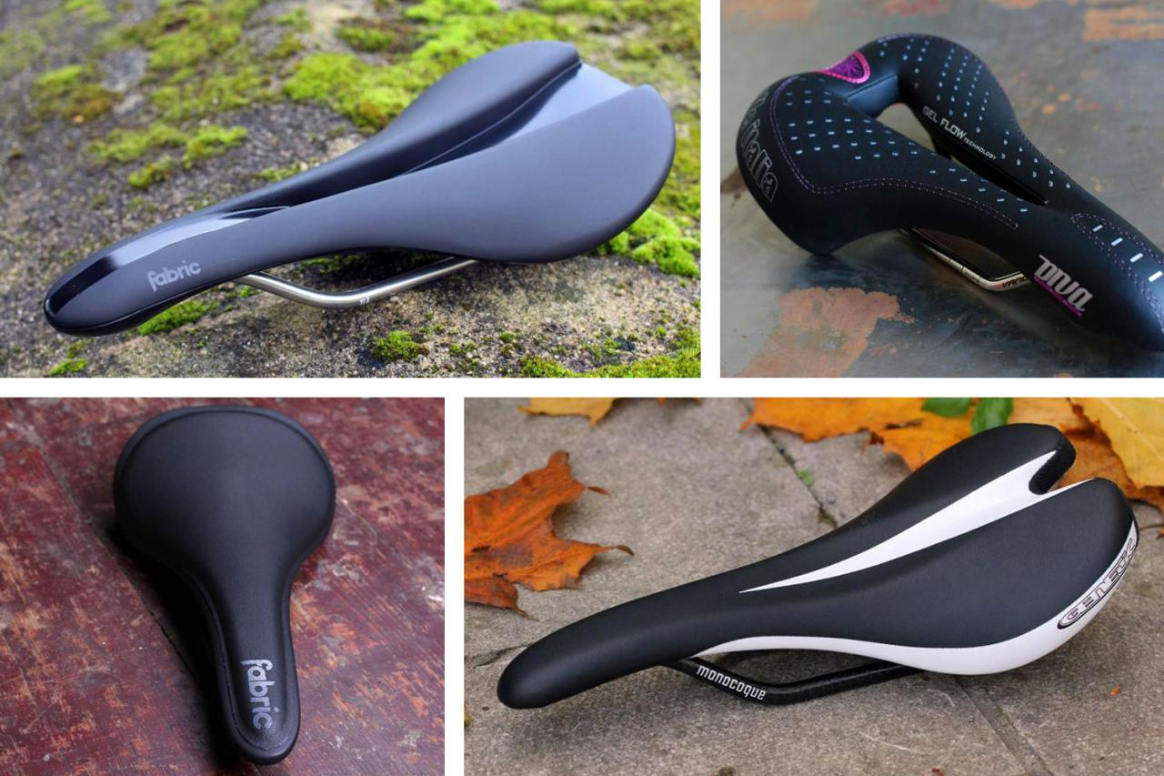 POROMEND Saddles Seat MTB Bicycle Comfort Leather Unisex Adult Cutaway Saddle