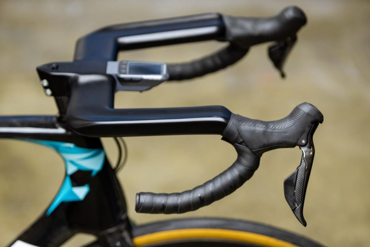 Details about  /Bicycle Handlebar Road Stem Handle Playing UD Matt Full Carbon Cycling Bending