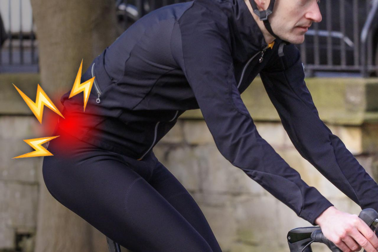Does lower back pain spoil your cycling? Here's how to prevent and treat it