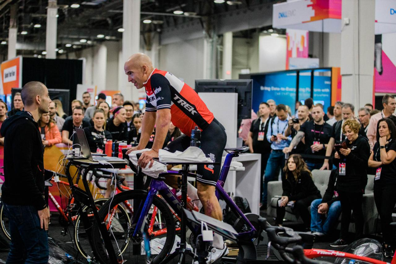 Cyclist claims world records after riding 952km on Zwift in 24 hours